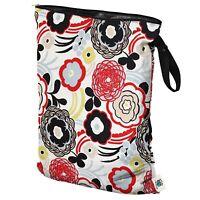 Planet Wise Wet Diaper Bag, Art Deco, Large