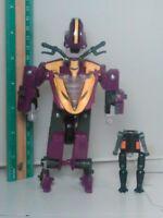 2002 Transformers Armada Supercons Sideways Action Figure Motorcycle w Crosswise