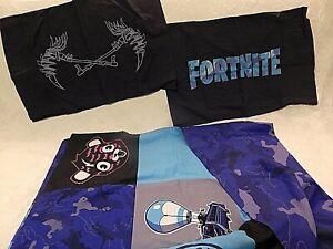 FORTNITE Bedding Twin Duvet Cover + 2 Pillowcases Northwest