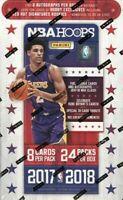 2017-18 Panini NBA Hoops Basketball Factory Sealed HOBBY BOX *2 AUTOGRAPHS PER*