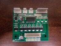 MOTOR CONTROL BOARD FOR GAINES 750 B COMBO VENDING MACHINE BRAND NEW!