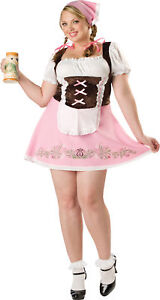 Fetching Fraulein Adult Plus Womens Costume Sexy Oktoberfest Xxl Xxxl Halloween