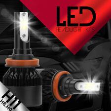 388w 38800lm Led Headlight Kit Light Bulbs 6500k White High Power H8 H9 H11 Cob Fits Pontiac G6
