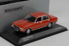 1975 Opel Rekord D Red Crimson Red Minichamps 1:43