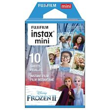 1 Pack 10 Photos Disney Frozen 2 FujiFilm Fuji Instax Mini Film Polaroid Liplay