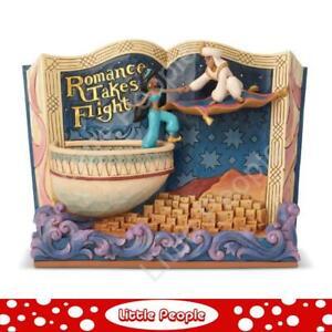 Jim Shore Aladdin Storybook Figurine Disney Traditions