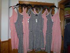 Striped Sleeveless Dresses Gap size XL,LG,MD.SM Navy and Peach Striped NWT