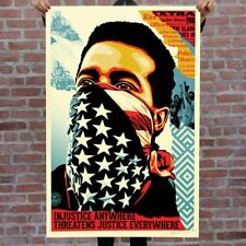 Shepard Fairey aka Obey | American Rage | 2020 Signé à la main |COA
