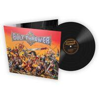 Bolt Thrower 'Warmaster' FDR Black Vinyl - NEW war master