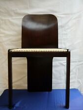 6 chaises vintage design italien 1980