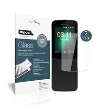 2x Nokia 8110 4G Protector de Pantalla Vidrio Flexible Cristal Proteccion 9H