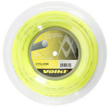 VOLKL CYCLONE TENNIS STRING - 1.20MM 18G - 200M REEL - YELLOW - RRP £120