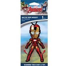 Plasticolor 005423R01 Marvel Iron Man Wiggler Air Freshener