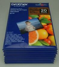 Lot of 8 Packets Brother Premium Plus Glossy Photo Paper 10 x 15cms 20 sheet LH6