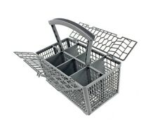 Cutlery Basket fits STOVES Dishwasher Plastic Cage Tray Lid Removable Handle