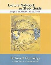 Study Guide to accompany Biological Psychology by Klein, Stephen B.