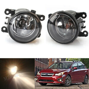 Fog Light Lamps For Subaru Impreza XV Crosstrek 2012 2013 2014 2015 w/ H11 Bulbs