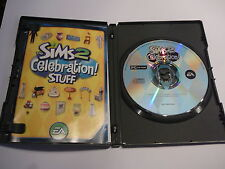 THE SIMS 2: CELEBRATION STUFF PC CD-ROM 60 PARTY ITEMS