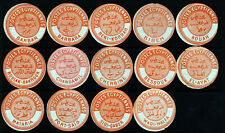 EGYPT 1879 A Valuable Collection of Fourteen Egyptian Postal Seals FINE MINT