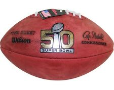 SUPER BOWL 50 Authentic ON-FIELD NFL Game Football (IN-STOCK READY TO SHIP)