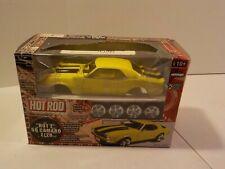 N HOT ROD Hot Z 68 Camaro Z/28 Yellow Die Cast 1/24 Metal Model Kit