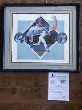 "LA Dodgers KIRK GIBSON ""The Home Run""  AUTOGRAPHED Lithograph #'d /1988 Beckett"