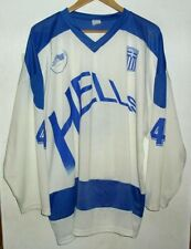 HELLAS GREECE ICE HOCKEY SHIRT BY FLIGHT #4 JERSEY