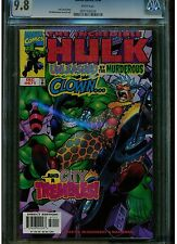 INCREDIBLE HULK #471 CGC 9.8 MINT WHITE PAGES 1999 LATE ISSUE LOWER PRINTRUN