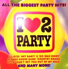 I LOVE 2 PARTY - 2 X CDS 70S 80S 90S 2000 CHART DANCE DISCO POP CD CDJ DJ