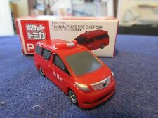 Tomica Taito Prize Half Size P047 Toyota Alphard Tokyo Fire Chief HO Scale 1:87