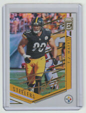 T.J. WATT Steelers SIGNED 2018 Donruss Elite Football #66 Autograph ON CARD AUTO