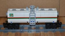 "NEW Lego Train Custom White Octan Car 9"" inches long MOC/RC/9V/CITY/TOWN"