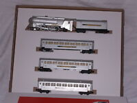 AMERICAN FLYER SILVER BULLET PASSENGER CAR SET BOX ONLY NO ENGINE OR CARS