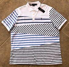 Polo Ralph Lauren Mesh Shirt Mens XXL Striped Pattern w/Pony $98 Classic Fit NWT