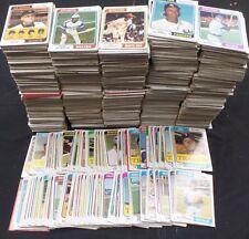 1974 Topps Baseball Commons, Starter/Partial Set, VG, Lot of 2250+