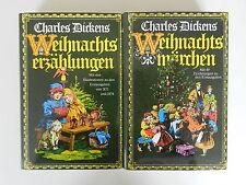 2 Bände Charles Dickens Weihnachtsmärchen Weihnachtserzählungen Weihnachten