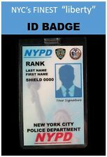 international ID collection..USA Vertical Card... <<NEW YORK LIBERTY-PD>>