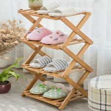 Shoes Wooden Cabinets Rack Storage Strong Folding Detachable Organizer Furniture