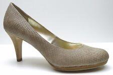 Anne Klein Wystere Brown Animal Print Platform Dress Sandal Pump 8M 8 $89
