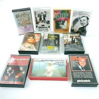 Vintage Music Cassette Tapes Rock / Pop / Golden Greats (x10) Buddy Holly & More
