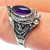 Amethyst 925 Sterling Silver Ring Size 9 Ana Co Jewelry R35734F