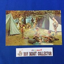 Boy Scout Camp Postcard Hidden Valley Scout Reservation N.H. Camping