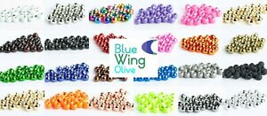 Blue Wing Olive Tungsten Fly Tying Beads - 100 Pack