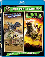 Godzilla: Tokyo S.O.S. / Godzilla: Final Wars   New   Sealed   Blu-ray