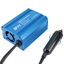 Power Inverter 200 Watts DC to AC Outlets w/ Dual USB Port Car Charger Adapter