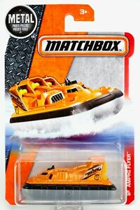 2016 Matchbox #91 Amphi Flyer™ ORANGE METALLIC / MBX FORCE Q / MOC