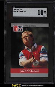 1990 Pro Set Golf Jack NIcklaus #93 SGC 10 GEM MINT