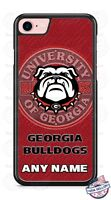 Customized Georgia Bulldogs Personalized Phone Case Cover fits iPhone LG etc