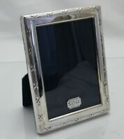 Vintage Sterling Solid Silver Photograph Frame 15.5cm x 12cm (1484/C/LSY)