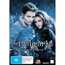 The Twilight Saga Complete DVD box set R4 New Moon Eclipse Breaking Dawn 1 & 2